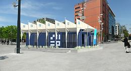 Pavillon Pôle emploi des terrasses du port