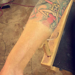 Tattoo Cover up and slit wrist gag