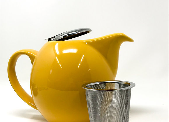 4141D Yellow Teapot 5 cups