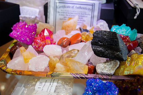 I'm a Product 3 pounds of healing crystals and gemstones