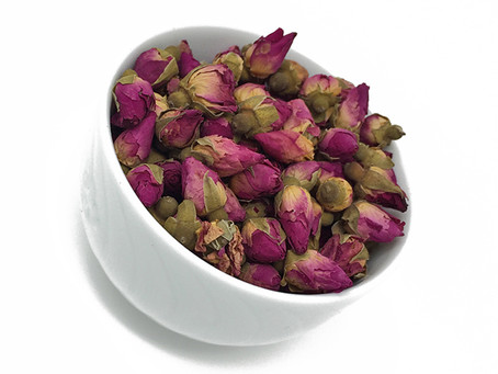 If you like rose petals, you are going to love our wild rose buds!