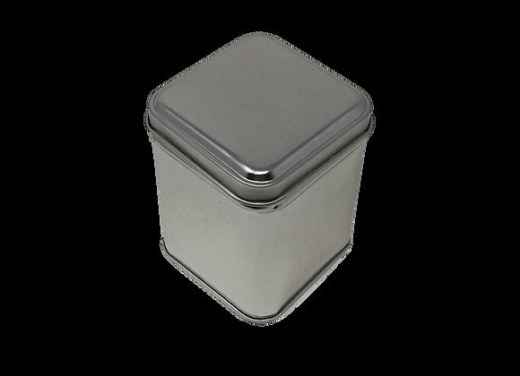 4222 Small square tea tin