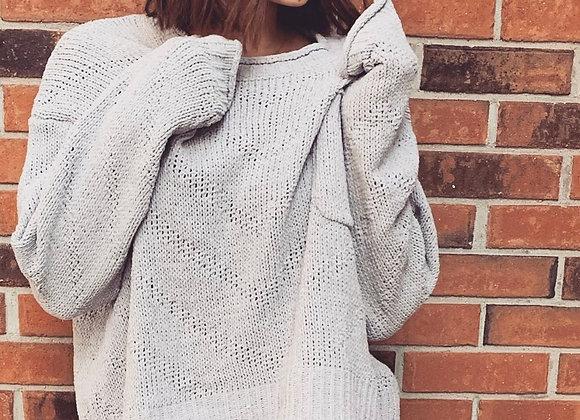 mittoshop gray sweater