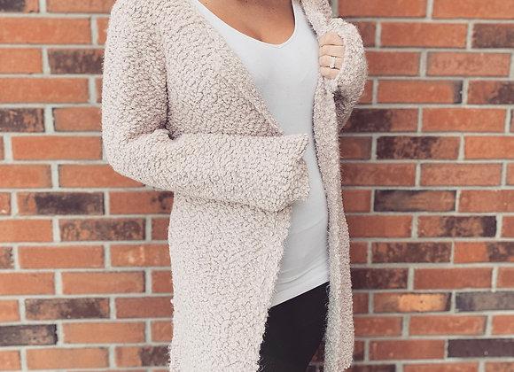 POL long tan sweater