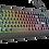 Thumbnail: Teclado LED Ziva Gaming Rainbow