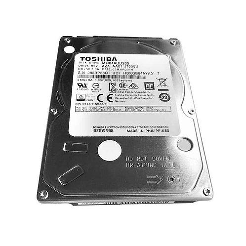 Disco Duro para Portátil 2TB MQ04ABD200 TOSHIBA