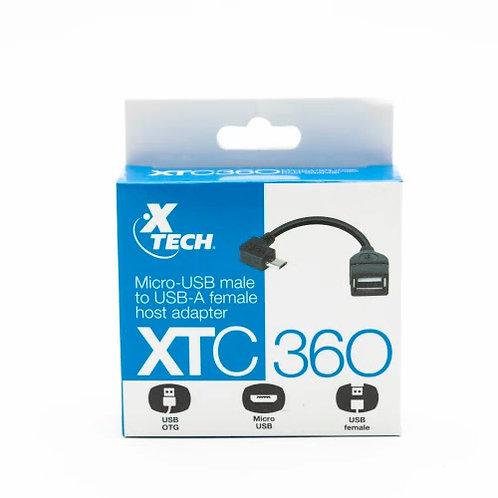 CABLE ADAPTADOR OTG XTECH XTC-360