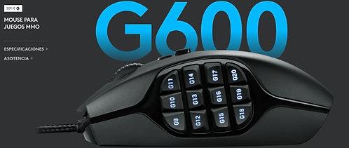 MOUSE GAMER PARA JUEGOS LOGITECH G600 MMO