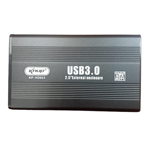 "CASE EXTERNO KNUP 2.5"" USB 3.0"