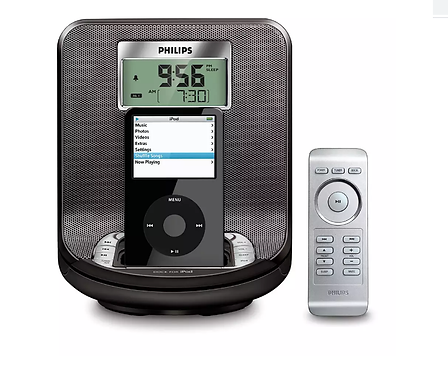 Cargador de iPod Reloj Philips