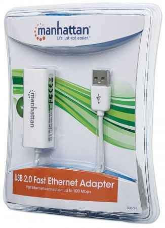 Red MANHATTAB USB 2.0 a Ethernet