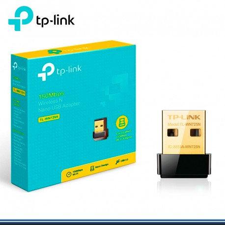 ADAPTADOR WIFI TP-LINK TL-WN725N NANO USB