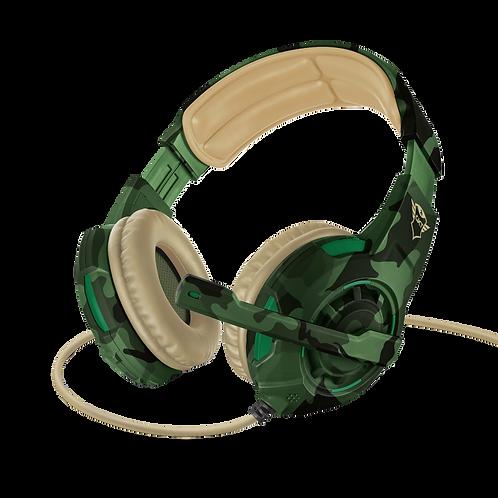 Auriculares para juegos GXT 310C Radius - camuflaje de la selva