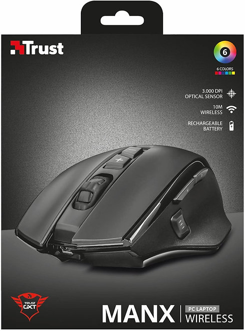 Mouse GXT 140 Manx Wireless