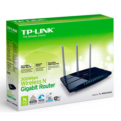 Router inalambrico TP-LINK Gigabit N450mbps