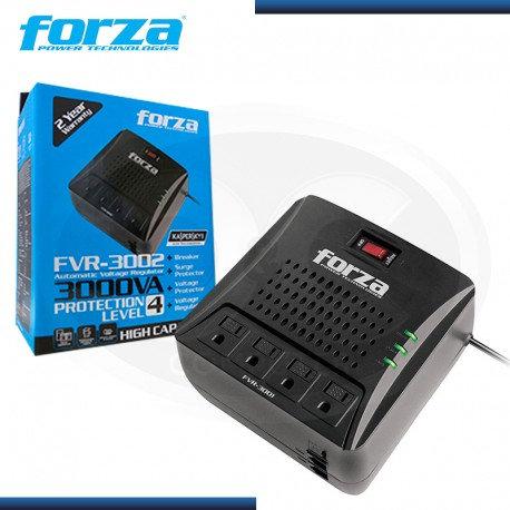 ESTABILIZADOR FORZA 3000VA FVR-3002