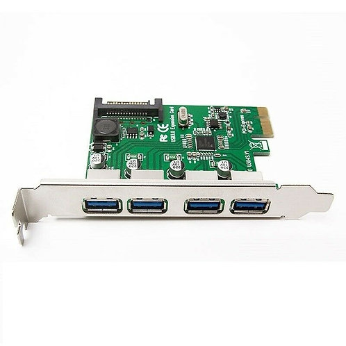 Tarjeta PCI Express 4 Puertos USB 3.0