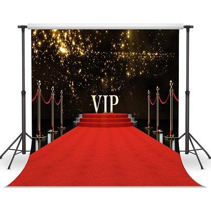 Red Carpet VIP Hollywood Backdrop