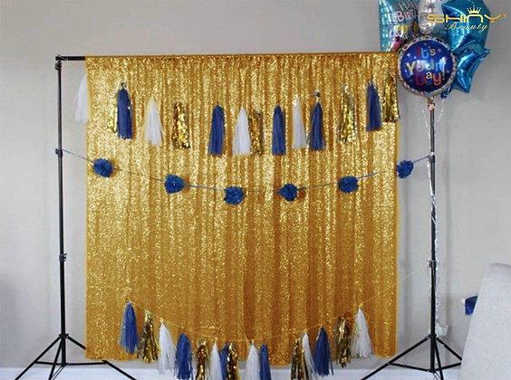 Gold Shimmer For Backdrop