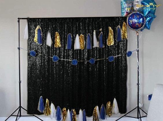 Black Shimmer Backdrop
