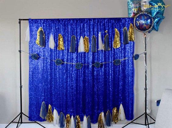 Royal Blue Shimmer For Backdrop