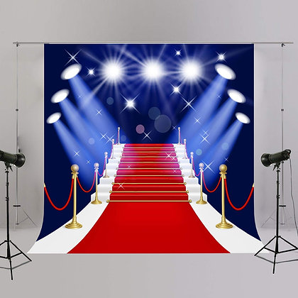 Red Carpet Hollywood Backdrop