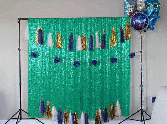 Green Shimmer Backdrop
