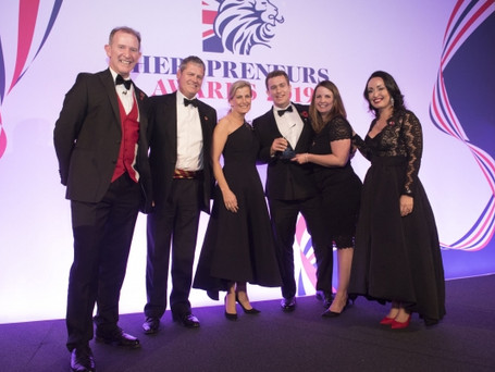 Nick & Louise Goldsmith, founders, Hidden Valley Bushcraft, winners of Heropreneur of the Year