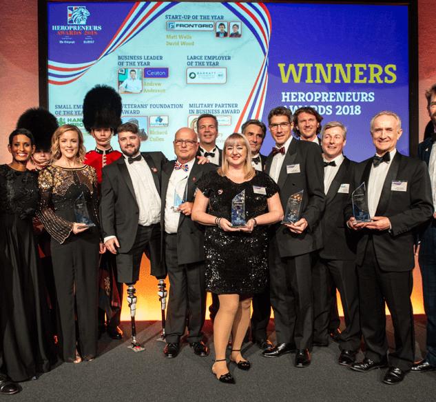 2018 Heropreneurs Awards Winners