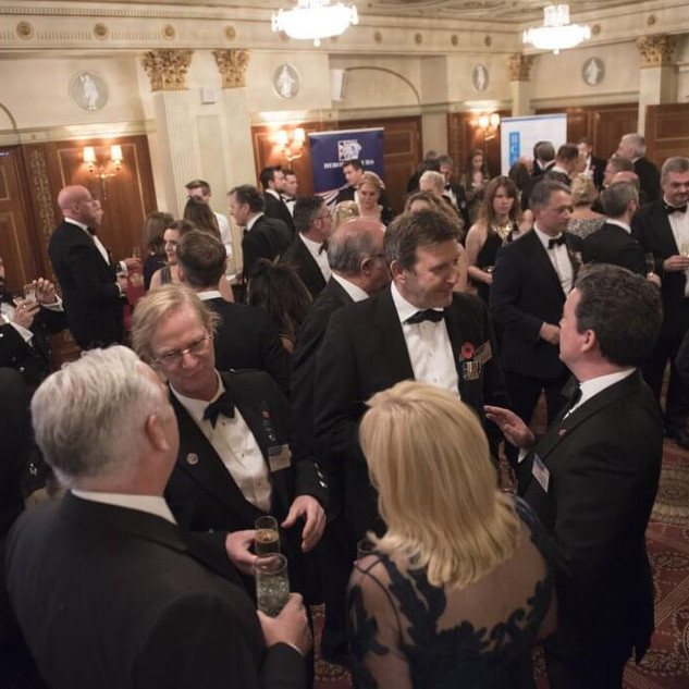 The evening reception at The Heropreneurs Awards 2019