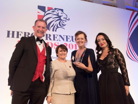 Meet Our Winners: Lucy Manns, founder of Family Rule, winner of the Military Partner in Business Awa