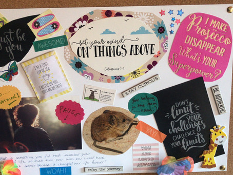 How not to do a vision board (and how carers can get it right!)