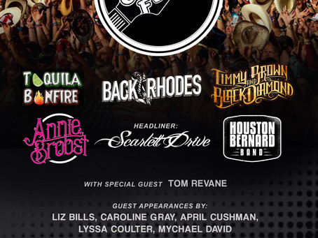 Just announced! Back Rhodes at Local Country Fest!