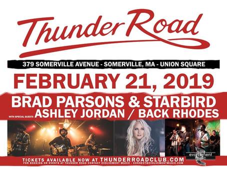 Thunder Road 2/21!