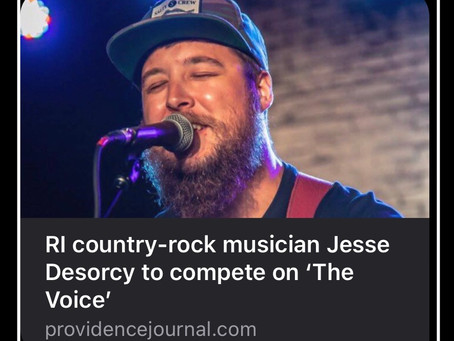 Jesse featured in the Providence Journal!