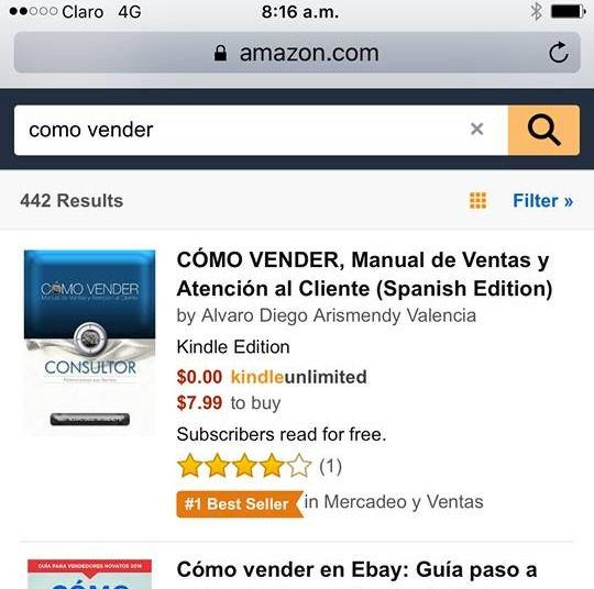 Best Seller de Amazon, Cómo Vender