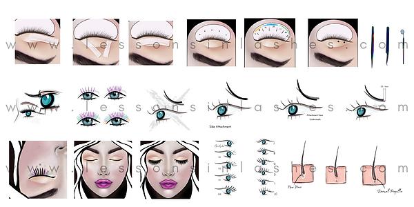 eyelash extension free online course
