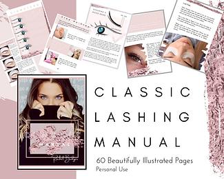 Classic Eyelash Extension Training Manual