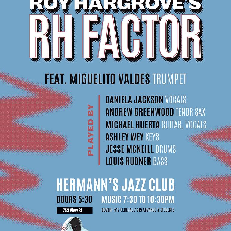 RH Factor Tribute at Hermann's Jazz Club
