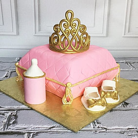 Royal Baby Shower Cakes    #shaiscakes #cake #baby #babyshower #tiara