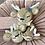 Thumbnail: Bambi beige personalisierte Wagenkette Frühlingsblume