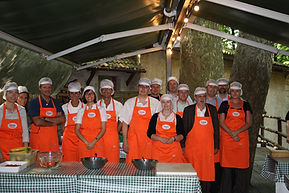 team building master chef, team cooking