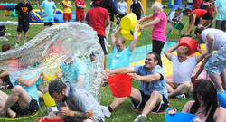 passing-water-team-building-games