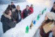 il tuo bbar di neve per l'aperetivo montano più bello di sempre