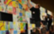 pixel art building