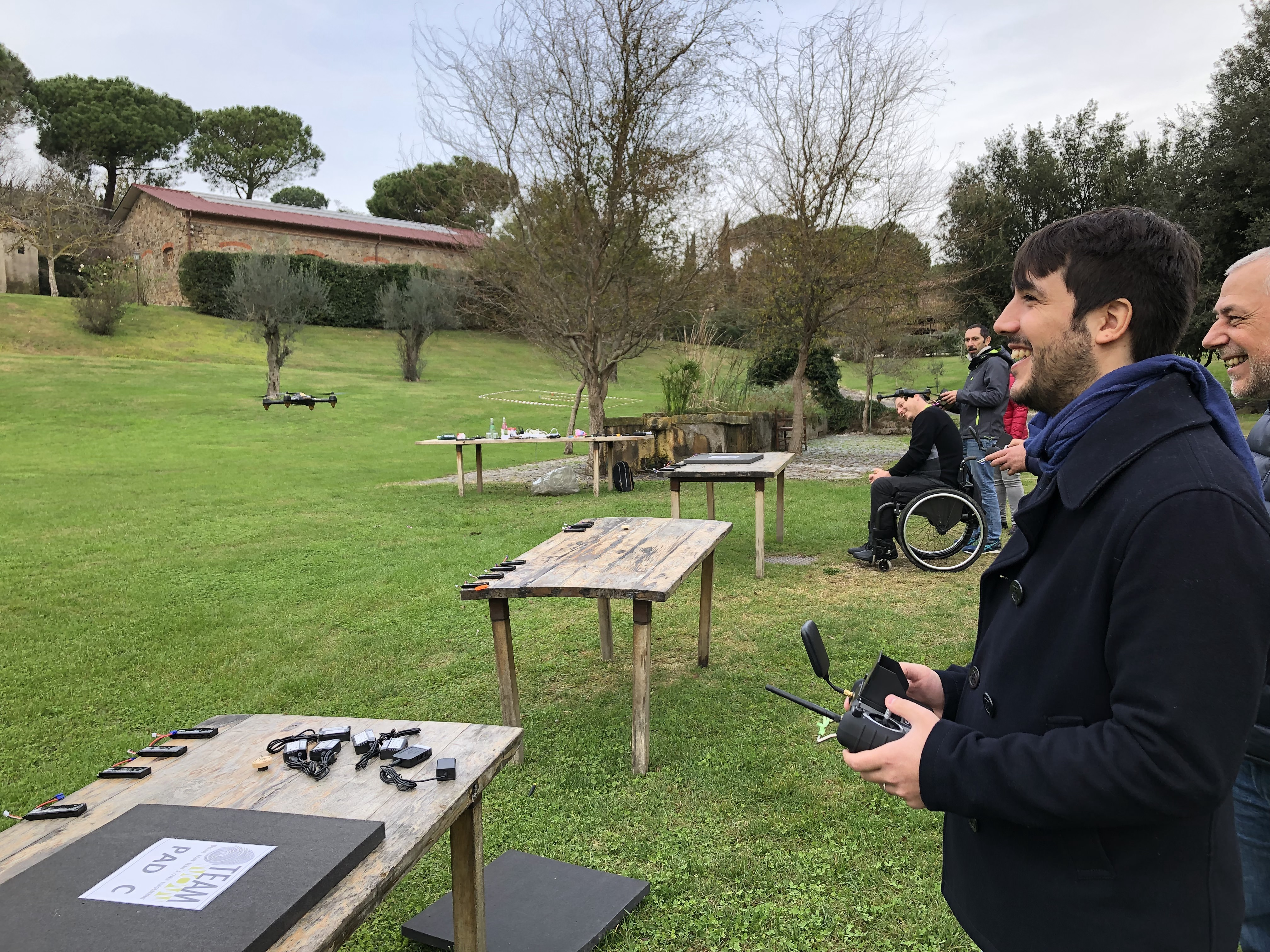 teambuilding drone experience