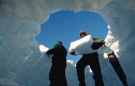 team building igloo