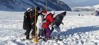 team building winter game