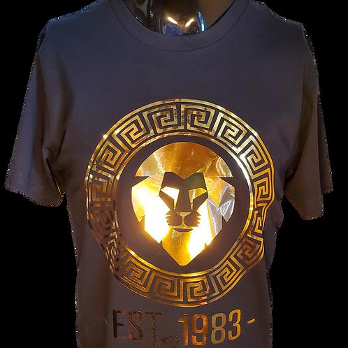 Lion Head Black/Gold