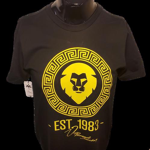 Lion Head Black/Yellow